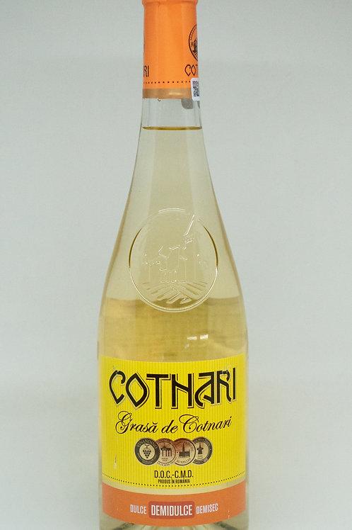 Cotnari - Grasa de Cotnari Demidulce Witte Wijn