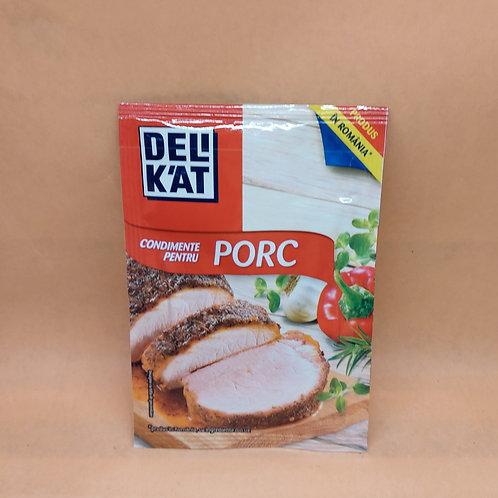 DELIKAT - Condiment Porc 23gr