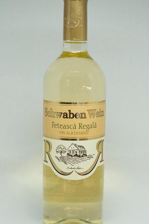 Recas - Feteasca Regala Demisec Witte Wijn