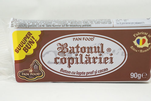 Pan Food - Batonul Copilariei cu Lapte Praf si Cacao