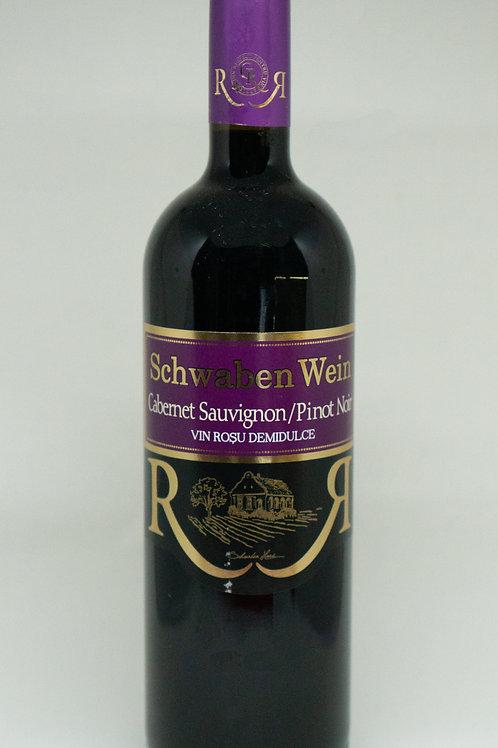 Recas - Cabernet Sauvignon/Pinot Noir Demidulce Rode Wijn