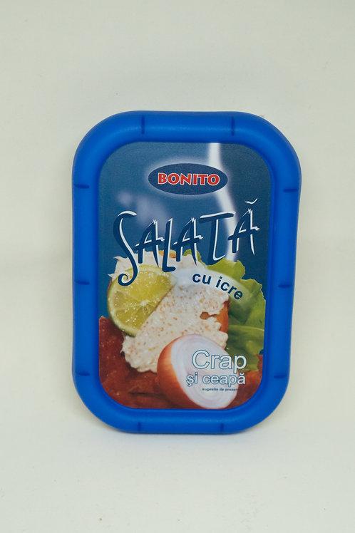 Bonito - Salata cu Icre Crap si Ceapa MIC 170gr