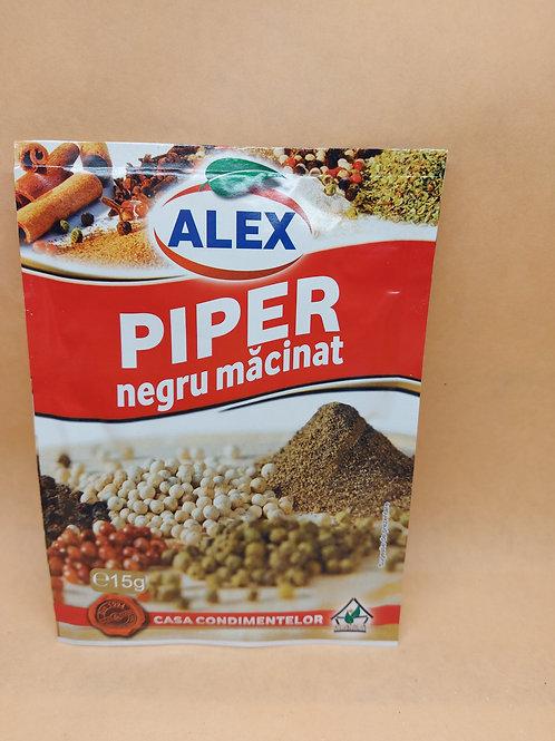 Alex - Piper Negru Macinat 15gr