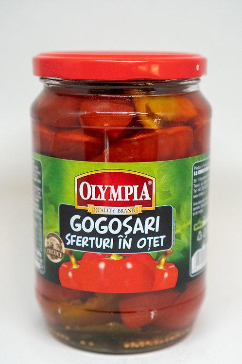 Olympia - Gogosari Sferturi in Otet 720ml