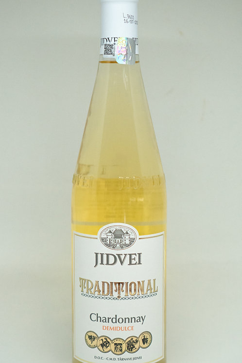 Jidvei Traditional - Chardonnay Demidulce Witte Wijn