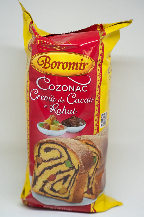 Boromir - Cozonac Crema de Cacao si Rahat 450gr