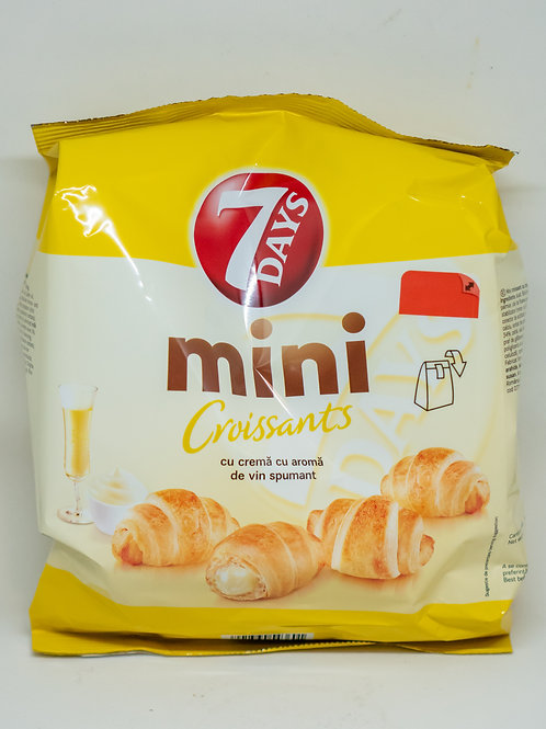 7 Days Mini Croissants - Vin Spumant 185gr