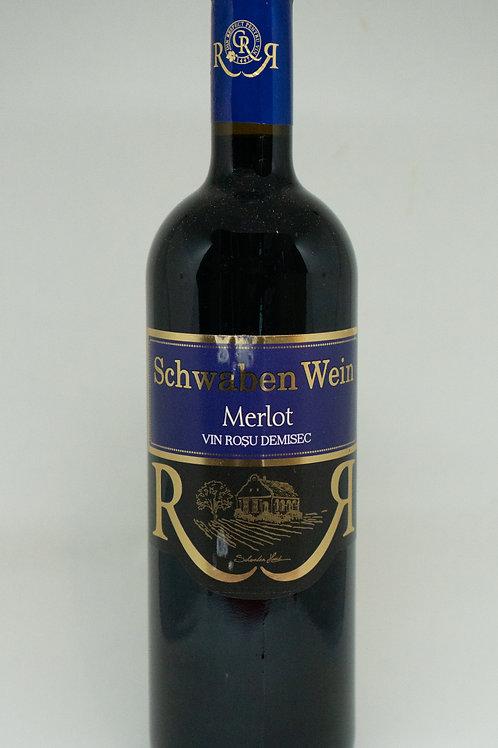 Recas - Merlot Demisec Rode Wijn