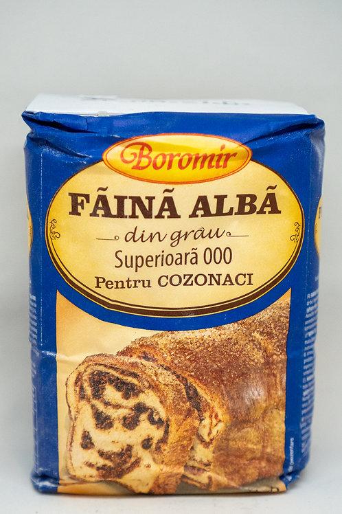 Boromir - Faina Alba din Grau 000 Pentru Cozonaci 1kg