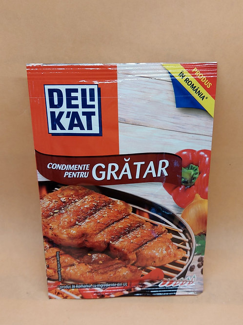 DELIKAT - Condiment Gratar 23gr