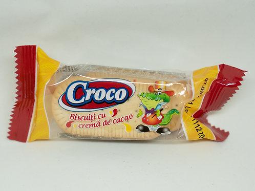 Croco - Biscuiti cu Crema de Cacao