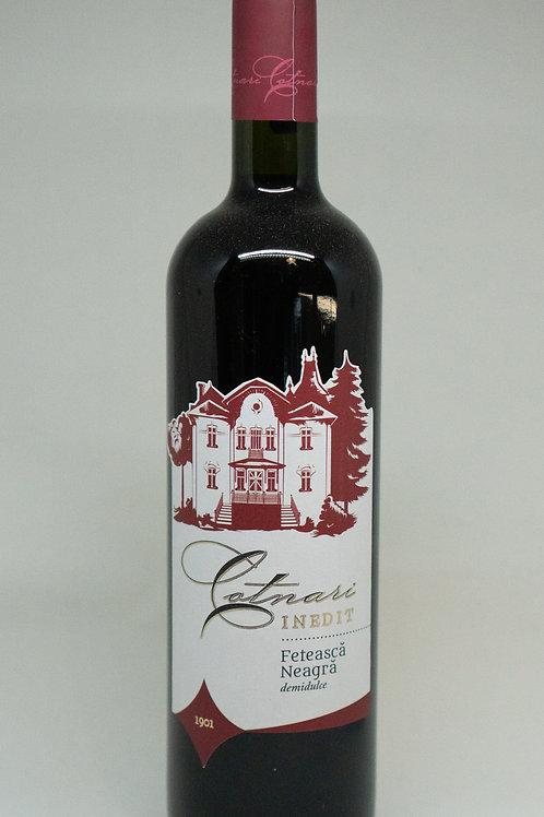Cotnari - Feteasca Neagra Inedit Demidulce Rode Wijn