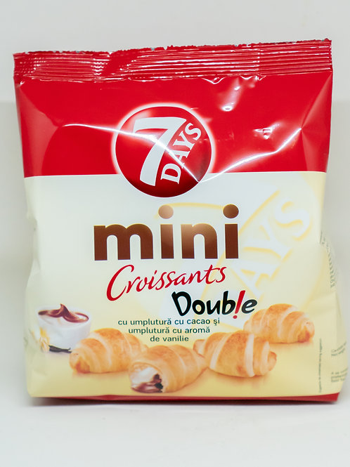 7 Days Mini Croissants - Double Chocolate 185gr