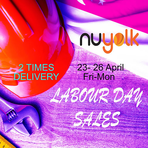 LABOUR DAY SALE First Born Nuyolk  50+16+Free Delivery 2 Times ( Total 66 Egg )