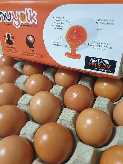 First Born Nuyolk Premium (  Total 36 eggs ) Min 45g per egg