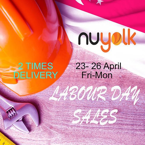 LABOUR DAY SALE Nuyolk Eggs  50+10+ Free Delivery 2 TIMES  ( Total 60 Eggs )