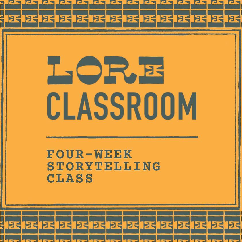 4 Week Storytelling Class (July)