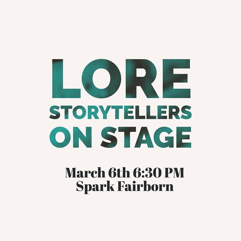 Lore Storytellers on Stage