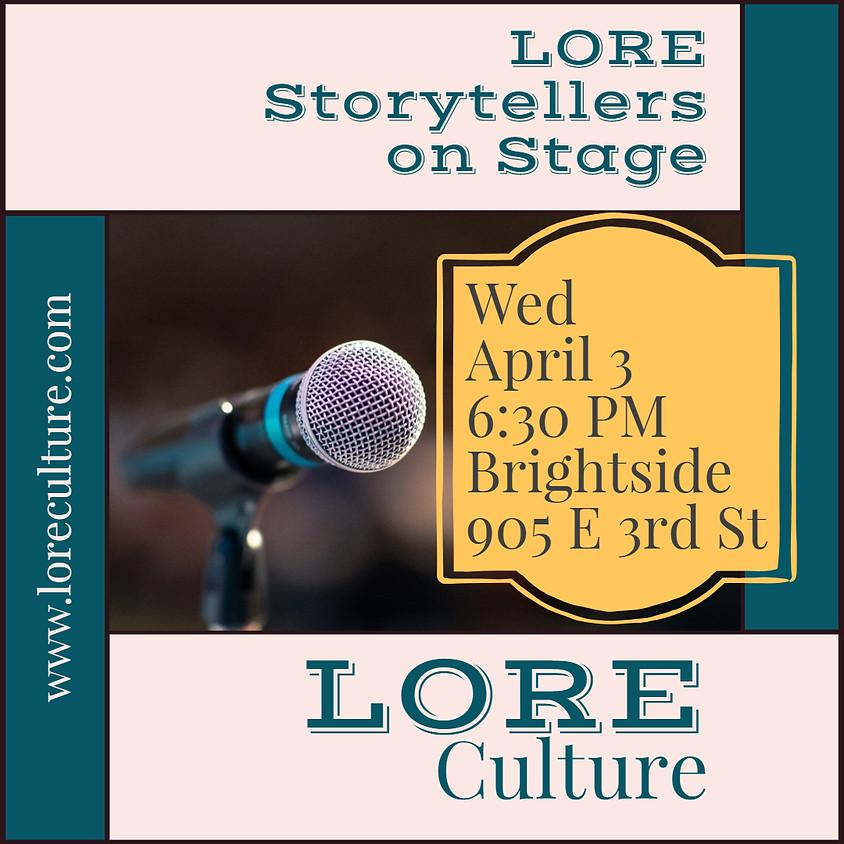 Storytellers on Stage