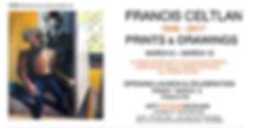 FRANK CELTLAN - WORKS ON PAPER- INVITE.j