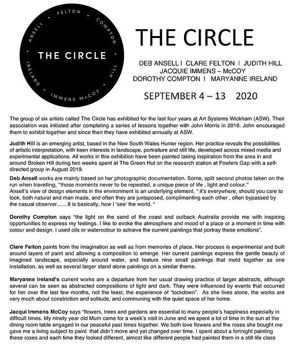 MEDIA RELEASE - THE CIRCLE. 2020 copy.jp
