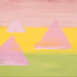 2021 John Barnes, Giza, acrylic on canva