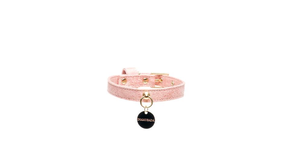 The Pink Sheepskin Collar