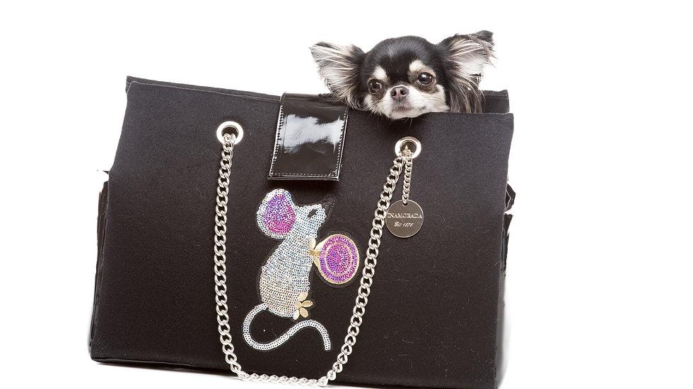 The Cinderella Cashmere Bag