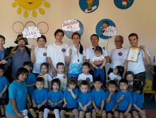 Спортивный праздник «Байга» в детском саду «Еркем-Ай»
