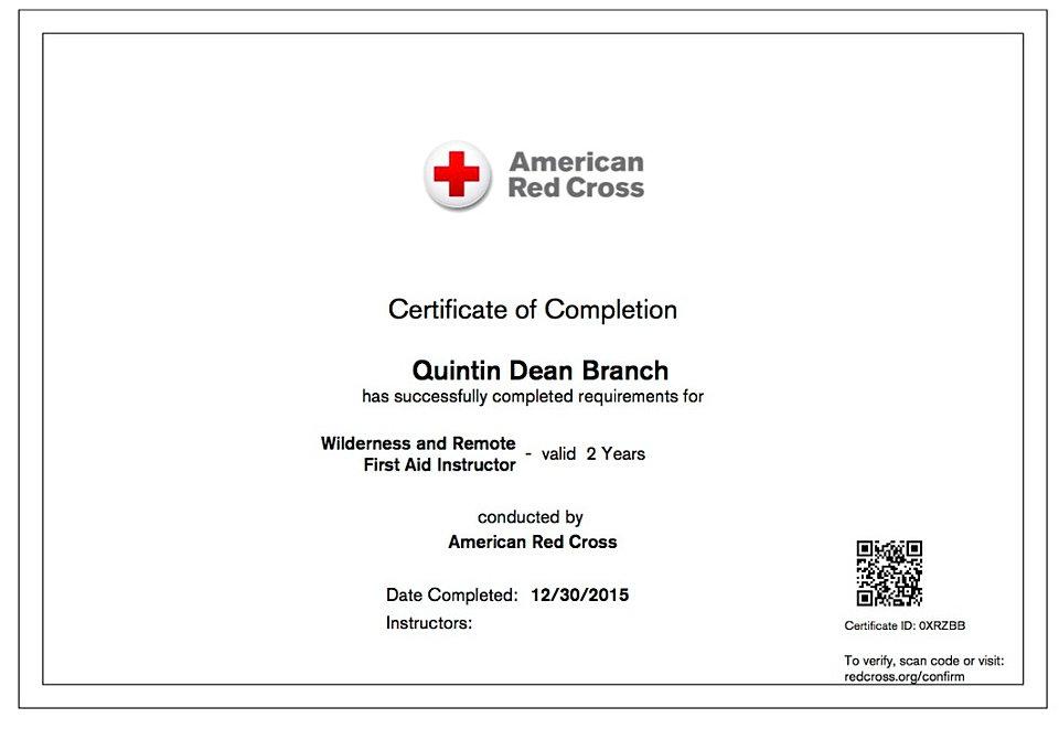 Cpr Certification American Red Cross Gallery Creative Certificate
