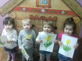 Мастер-класс по нетрадиционной технике рисования для детей и родителей на тему: «Рисование ладошками