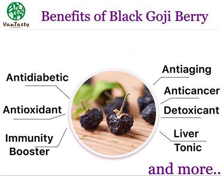 benefits of black goji berry