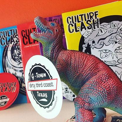 Culture Clash Magazine collage
