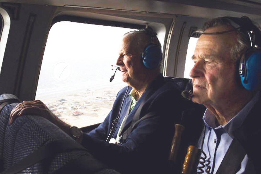 President Bush in Galveston