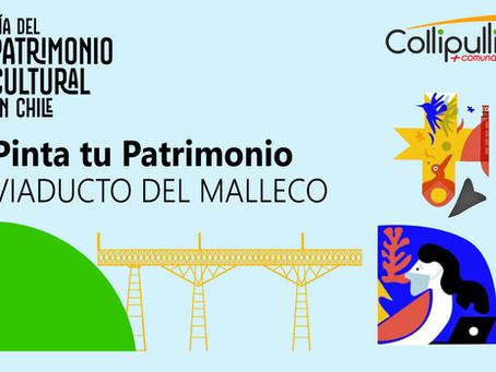 Pinta tu Patrimonio - Viaducto del Malleco 130 Años