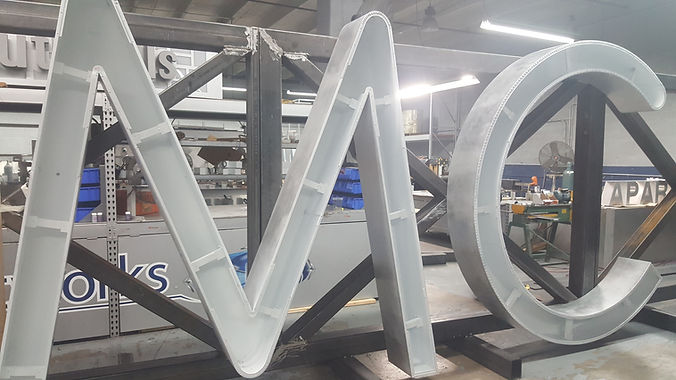 High-Rise Channel Letters