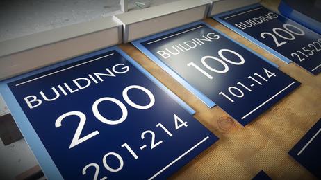 Building Identification   Wholesale Signs