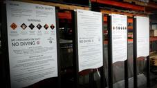 Post & Panel Advisory Sign - Wholesale
