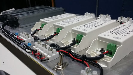 RGB-W Multi-Zone Control System
