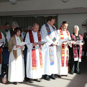 Irene Laudeman Ordination