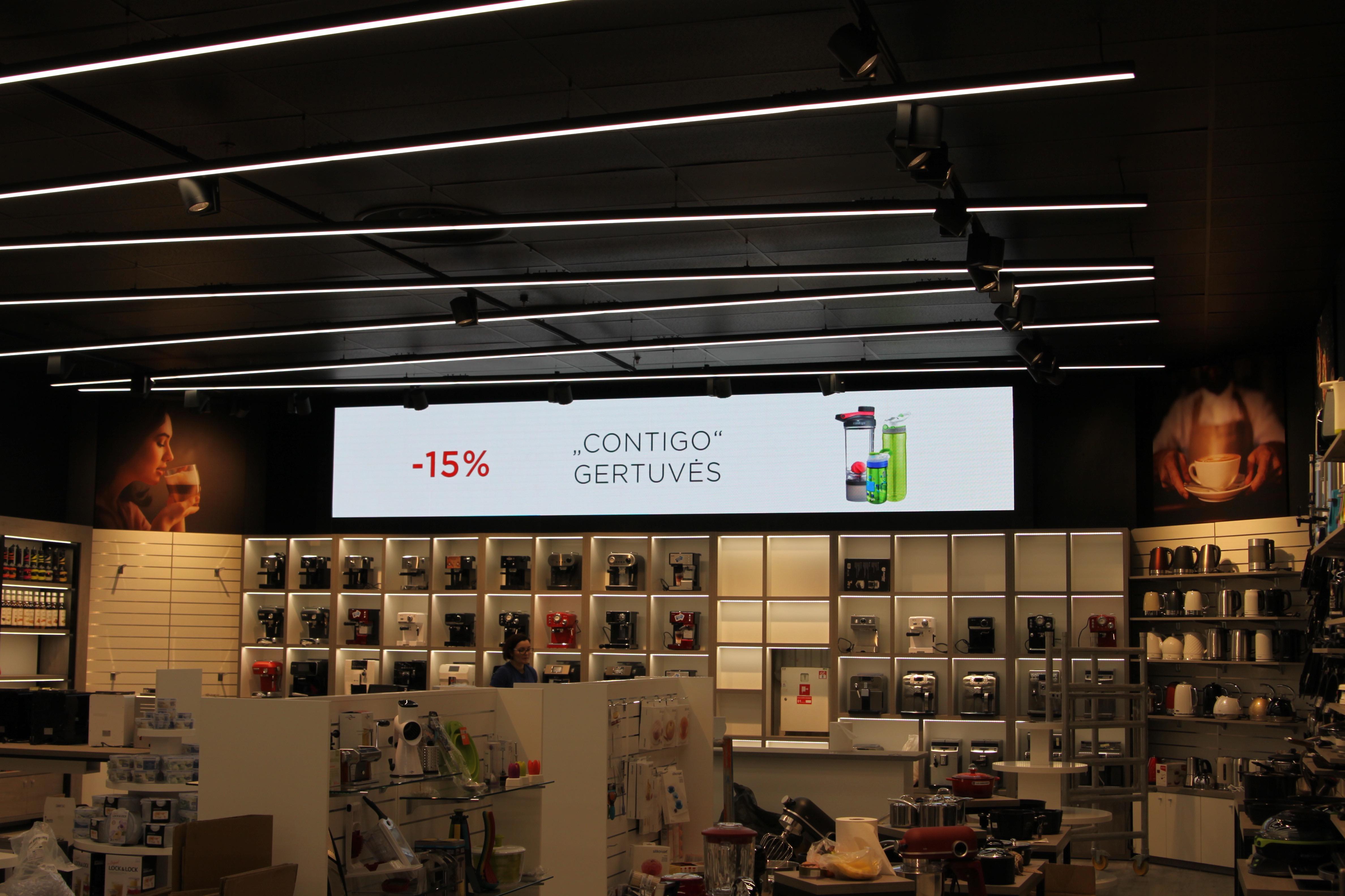 LED ekranai