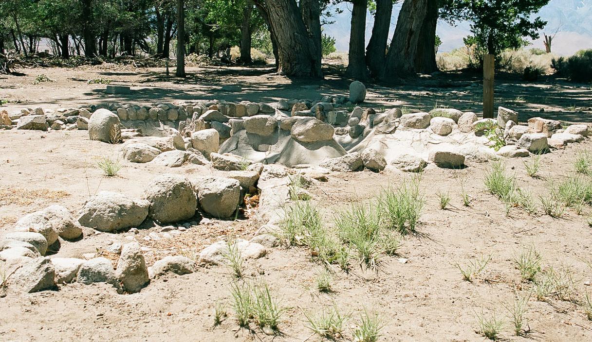 Dry Koi Ponds, Manzanar