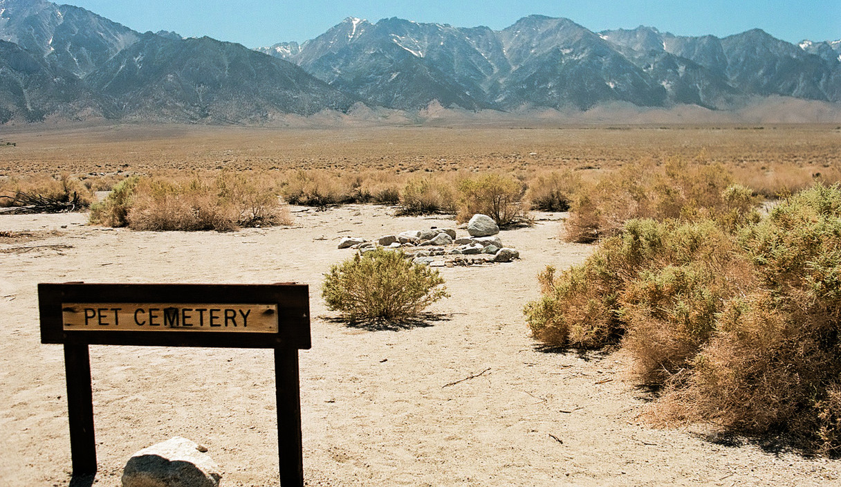 Pet Cemetery at the Manzanar War Relocation Center
