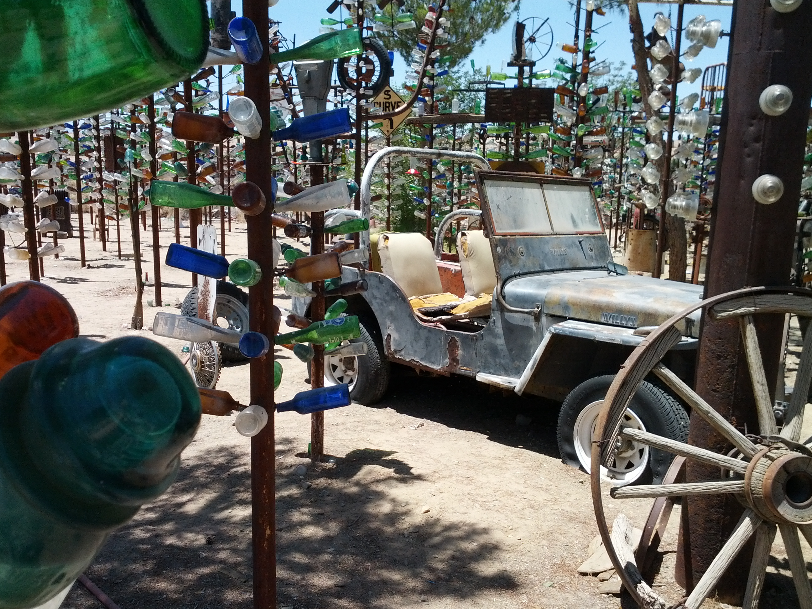 Bottle Tree Farm, Route 66