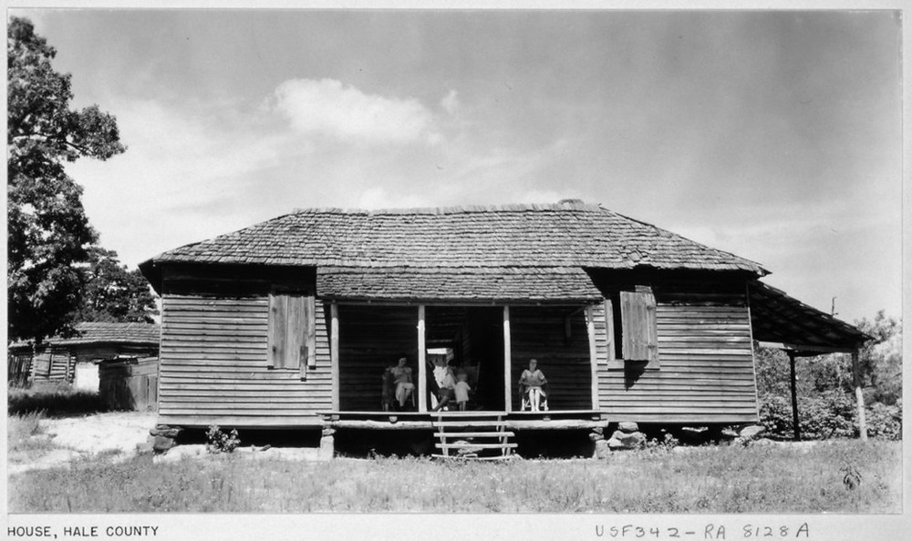 House, Hale County by Walker Evans