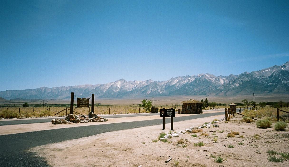Main Entrance, Manzanar War Relocation Center