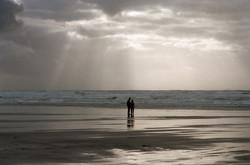 Manzanita Beach at Low Tide