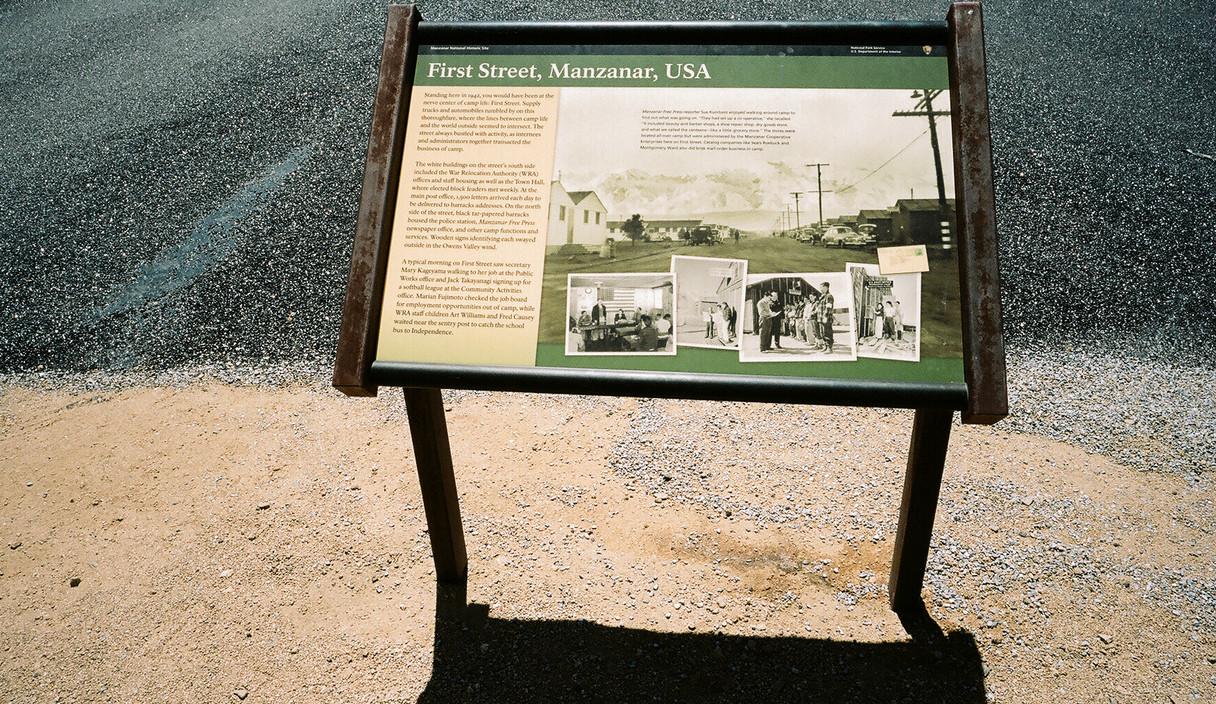 First Street Manzanar