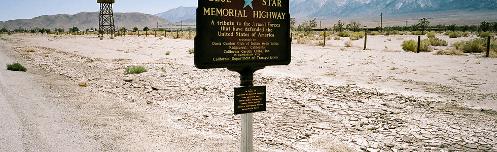 Manzanar Entrance Road