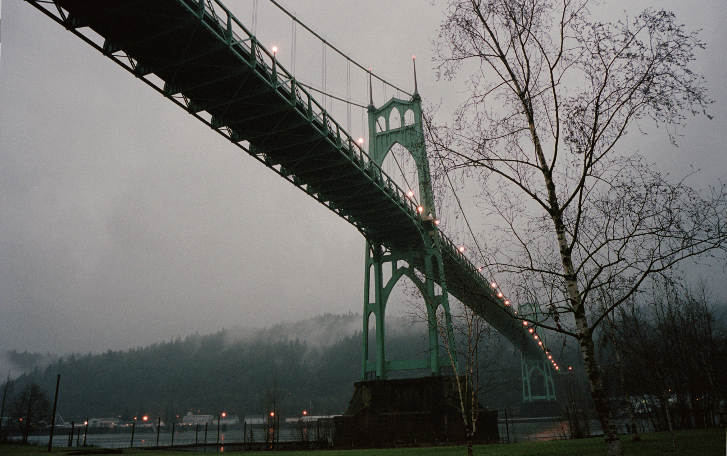 St Johns Bridge at Dusk